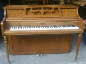 Wurlitzer Oak Console – $1295