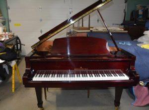 Kingsberg 158 Grand Piano Mahogany Finish – $14,400.00